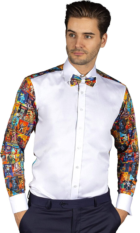Claudio Lugli - Camiseta de esmoquin, diseño de robot: Amazon ...