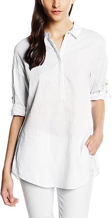 Cortefiel CAMISA OVERSIZE LINO - Blusa para mujer