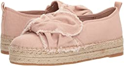 Shell Pink Casual Washed Out Canvas
