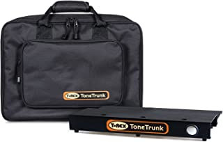 """T-Rex Engineering TT-BAG-45 ToneTrunk Includes Carry Bag and 17.7"""" x 12.4"""" Two-Tiered Small Aluminum Pedalboard, Fastening..."""