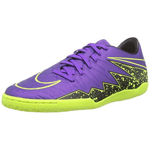 reputable site 40671 33e34 Nike Hypervenom Phelon II IC Indoor Soccer Shoe (Hyper Grape, Black, Volt)