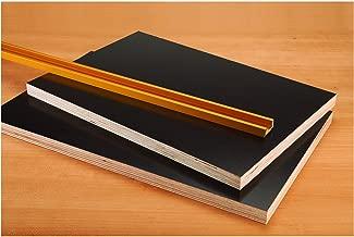 Single Piece of Phenolic Faced Plywood 1/2