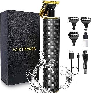 برش موی برقی مردانه OriHea ، T-Blade Pro Li Trimmer ، سری فوق العاده ضد آب ، تیغه های حرفه ای تیتانیوم ، کیت برش آرایشگاه ریش تراش آرایشگاه ریش تراش