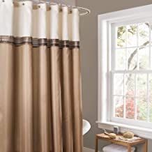 Best brown and white horizontal striped curtains Reviews
