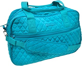 Vera Bradley Compact Traveler Bag (Peacock Blue)