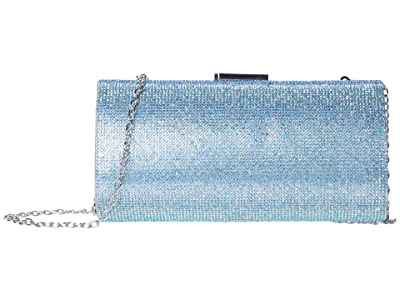 Jessica McClintock Ryan (Irisdecent Aqua) Clutch Handbags