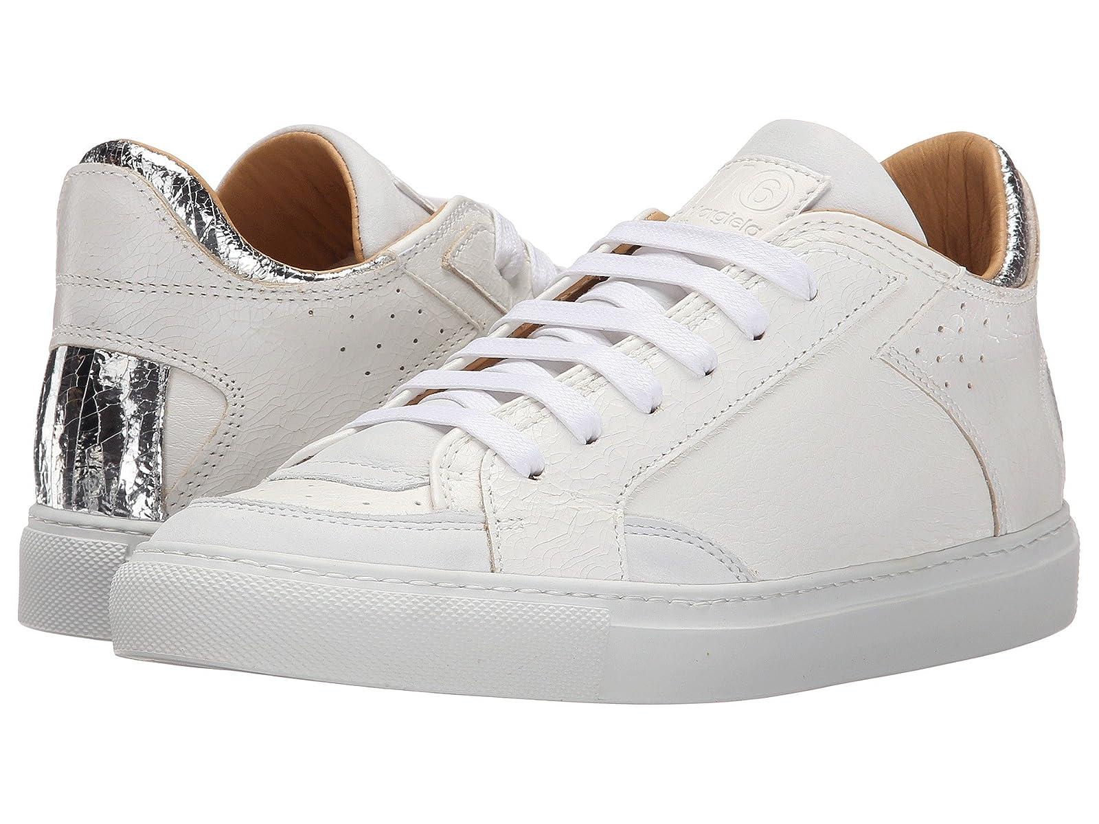 MM6 Maison Margiela Metallic Crackle Low Top SneakerAtmospheric grades have affordable shoes