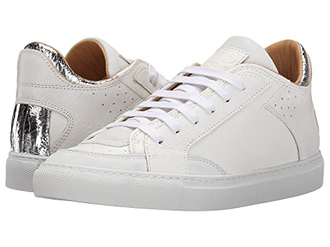 MM6 Maison Margiela Metallic Crackle Low Top Sneaker