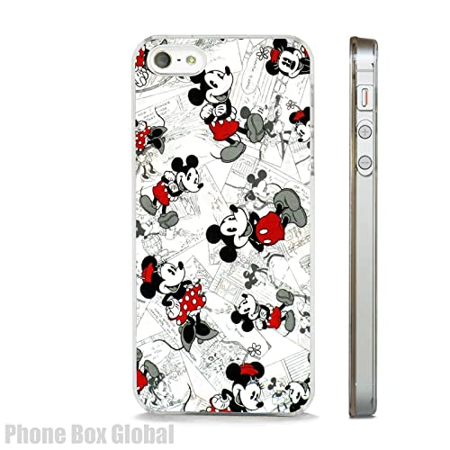 VINTAGE MICKEY   MINNIE MOUSE DISNEY COMIC STRIP CLEAR PHONE CASE FITS  APPLE IPHONE (6 1d1a1197ee45d