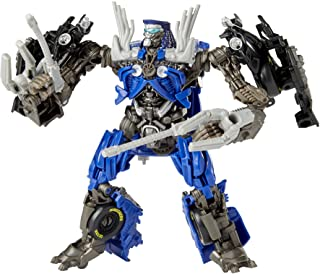 Transformers Toys Studio Series 63 Deluxe Class Dark of The Moon Movie Topspin Action Figure - Kids Ages 8 and Up, 11cm