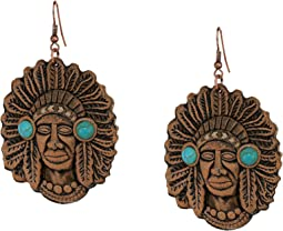 Leather Chief Earrings