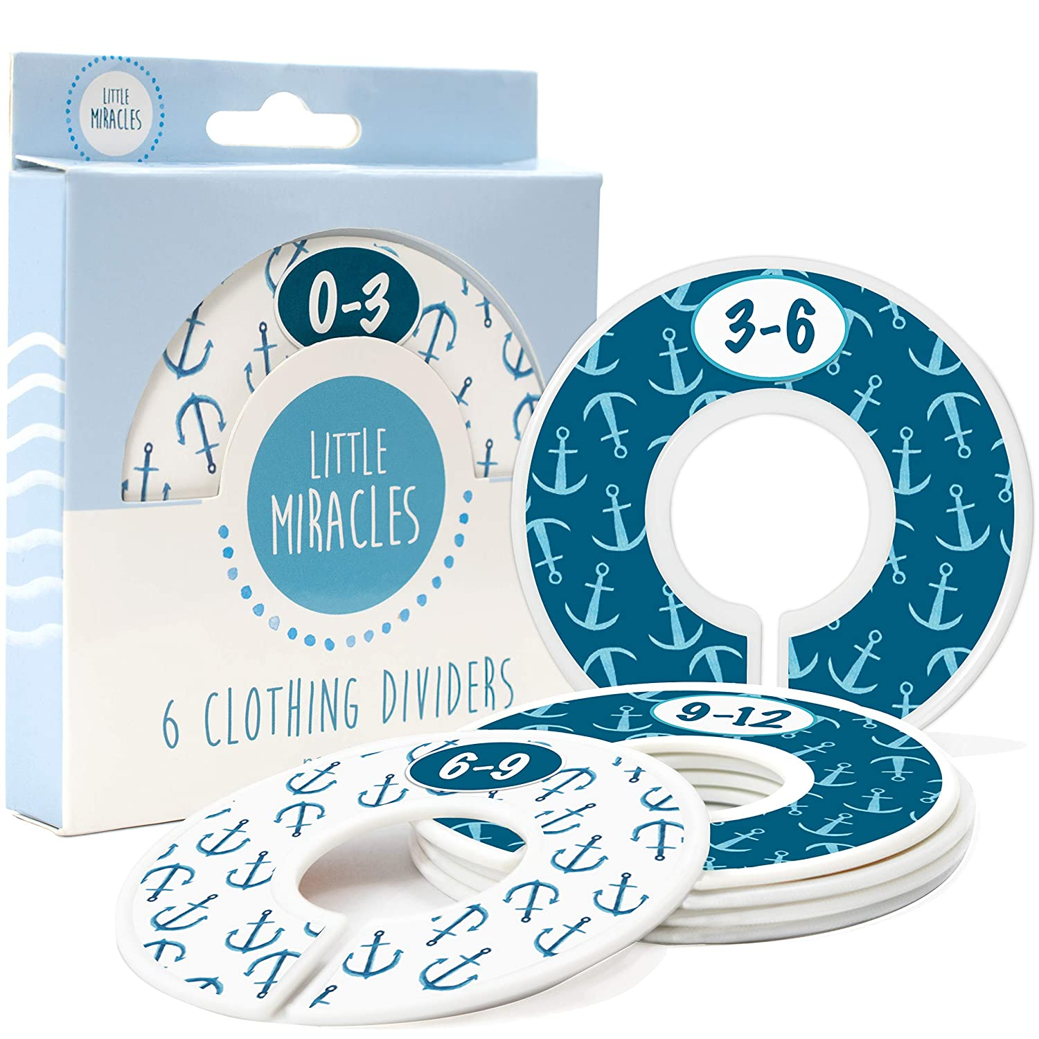 Baby Closet Size Dividers Nursery Cheap mail order sales Special Campaign - for Nautical