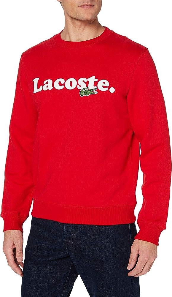 Lacoste, maglione,felpa per  uomo,100 % cotone SH2173