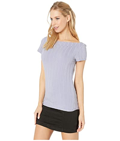 Free People Ahoy Solid Tee (Lilac) Women