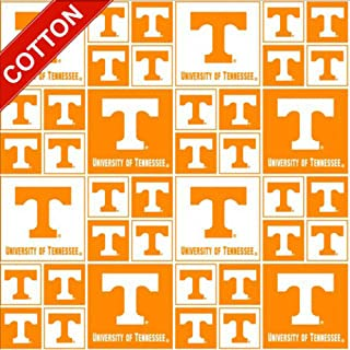 Best university of tennessee fabric Reviews