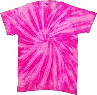Tie Dye Twist Neon T-Shirt Kids & Adult up to 5XL