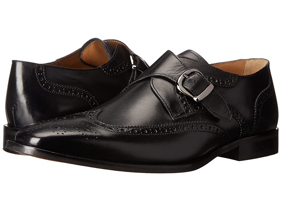 60s Mens Shoes | 70s Mens shoes – Platforms, Boots Florsheim Sabato Wingtip Monk Black Smooth Mens Lace Up Wing Tip Shoes $129.95 AT vintagedancer.com
