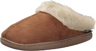 Woolrich Women's Cabin Lounger Moccasin, Chocolate, 6 M US