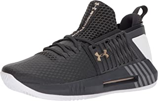 official photos 12581 0aab3 Under Armour Men s Drive 4 Low Basketball Shoe, (101) Anthracite, ...
