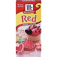 McCormick Red Food Color (1 fl oz bottle)