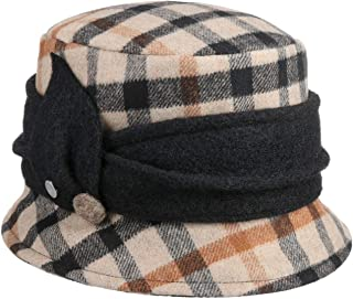 Lierys Cappello in Lana Yalea Check Donna - Made Italy Invernale Autunno/Inverno