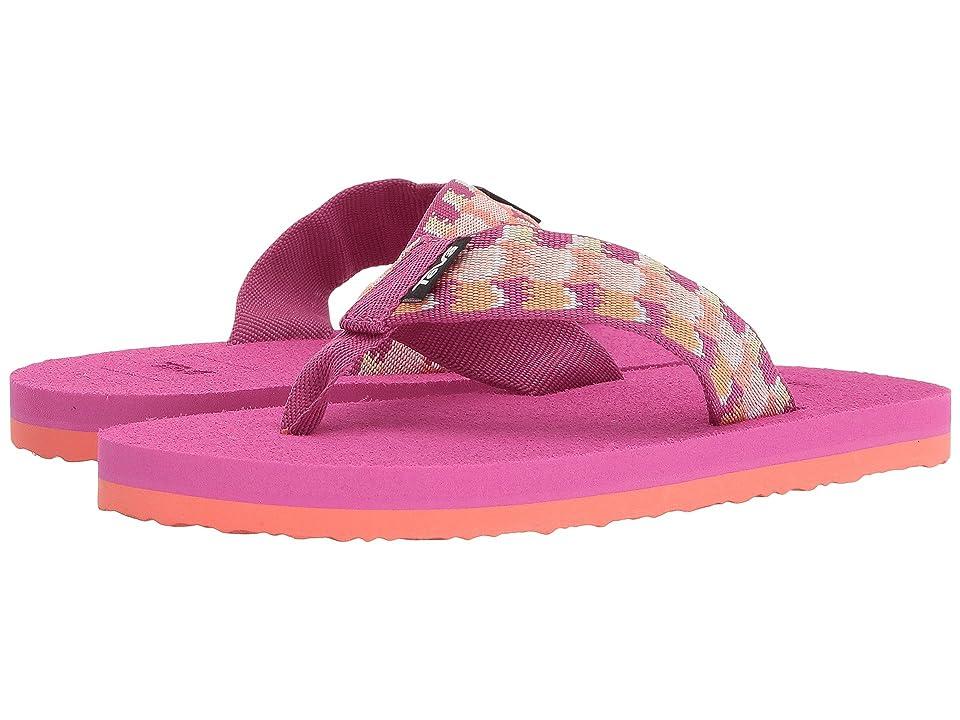 Teva Kids Mush II (Little Kid/Big Kid) (Rhia Pink) Girls Shoes