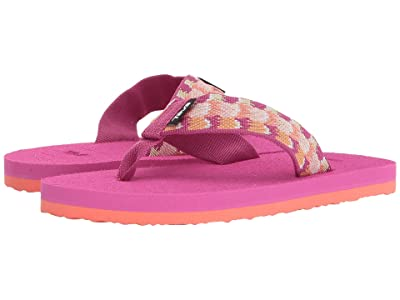 Teva Kids Mush II (Little Kid/Big Kid) (Rhia Pink) Girls Shoes