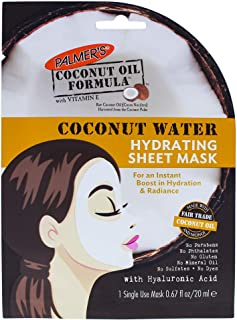 Palmers Coconut Water Hydrating Sheet Mask for Women 0.67 oz Mask