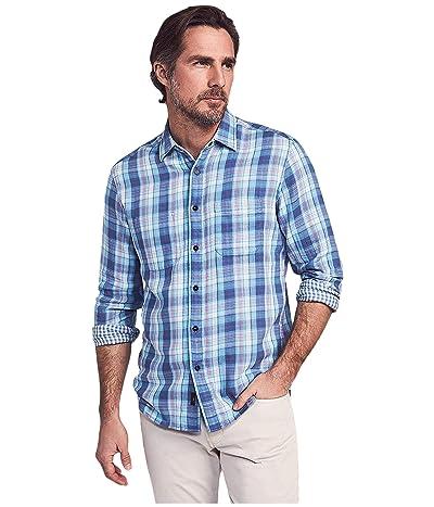 Faherty Reversible Belmar Shirt (Catalina Plaid) Men