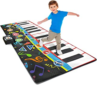"Little Performer Piano Dance Mat for Kids | 24 Key 70"" Gia"