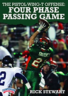 Championship Productions Rick Stewart-The Pistol Wing-T Offense: Four Phase Passing Game DVD