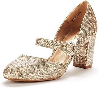 244d26c1c42 DREAM PAIRS Women s Charleen Classic Fashion Closed Toe High Heel Dress  Pumps Shoes