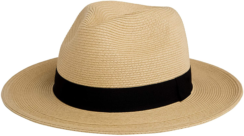 PineappleStar Sun Straw Fedora Beach UPF50+ Braid Hat Latest item for New arrival Fine