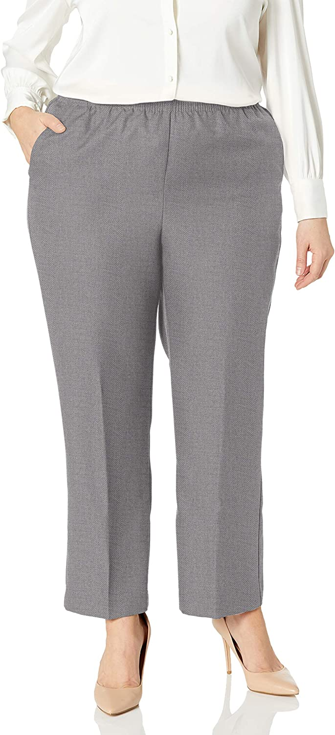 Alfred Dunner Women's Classic Missy Proportioned Medium Pant