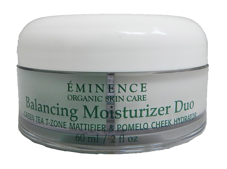 欠席路面電車歴史エミネンス Balancing Moisturizer Duo: Green Tea T-Zone Mattifier & Pomelo Cheek Hydrator - For Combination Skin Types 60ml/2oz並行輸入品