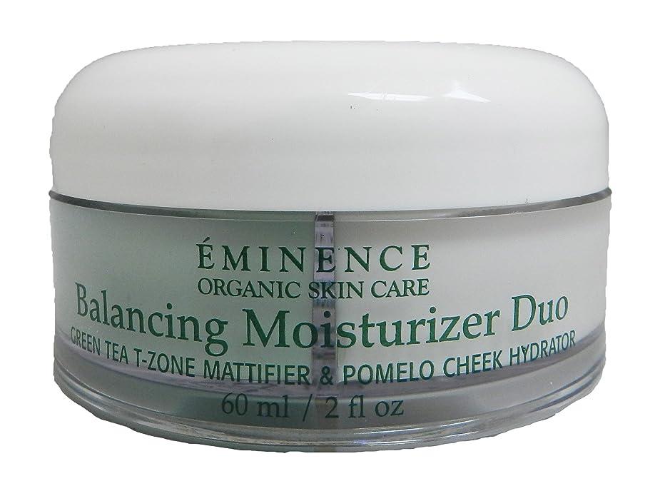漁師サービストラブルエミネンス Balancing Moisturizer Duo: Green Tea T-Zone Mattifier & Pomelo Cheek Hydrator - For Combination Skin Types 60ml/2oz並行輸入品