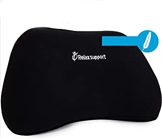 RS1 Soft Back Support Pillow by RelaxSupport – Lumbar Pillow Upper and Lower Back for Chair Back Pain Uses ArcContour Spec...