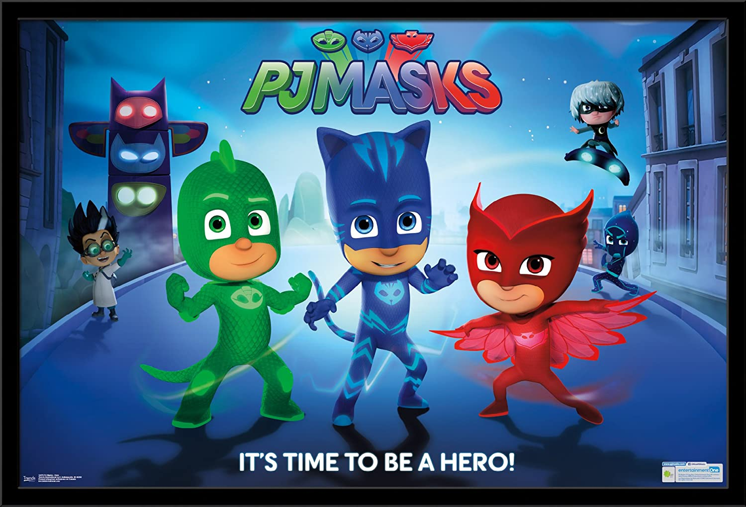 Trends International Wall Poster PJ Masks Hero, 22.375 x 34