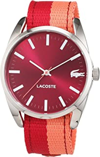 Lacoste Women's Pink Dial Fabric Band Watch - 2000926