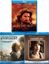 Love & War Tom Cruise Last Samurai + Changeling Clint Eastwood Directs & Atonement Epic Story Blu Ray 3 Pack Love & Drama Thriller Movie Set