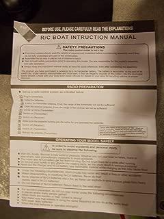 storm rc boat