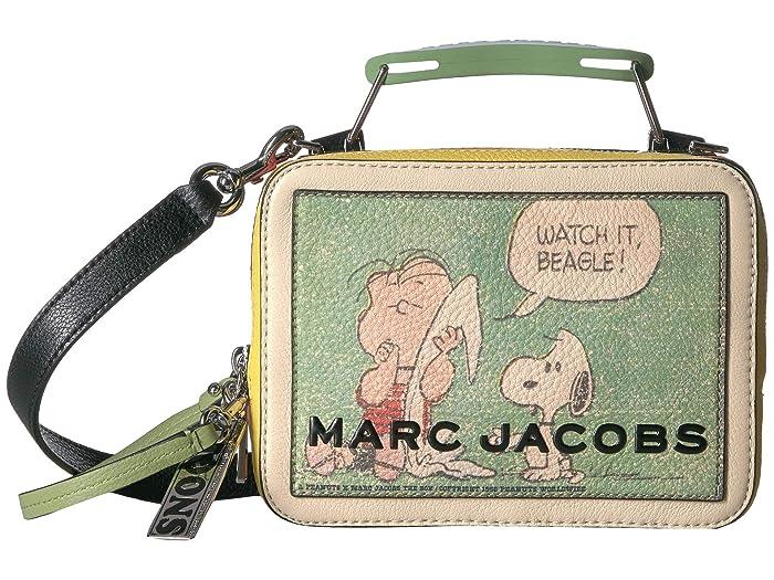 Marc Jacobs Peanuts(r) x Marc Jacobs The Mini Box Bag (Multi) Handbags