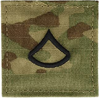 Army Scorpion OCP Enlisted Rank Insignia With Fastener