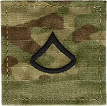 Scorpion OCP Enlisted Rank Insignia With Fastener