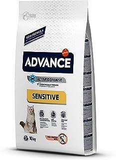 Advance Sensitive - Pienso para Gatos, 10 kg
