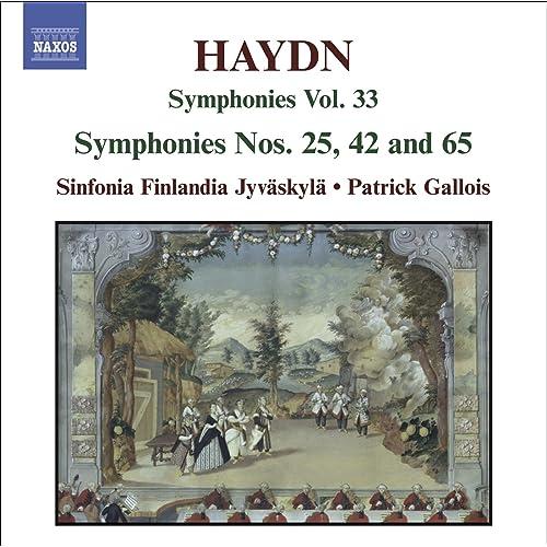 Haydn, J.: Symphonies, Vol. 33 (Nos. 25, 42, 65)
