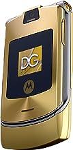 Motorola RAZR V3i Dolce & Gabbana Unlocked Phone with MP3/Video Player, and MicroSD-International Version with No Warranty...