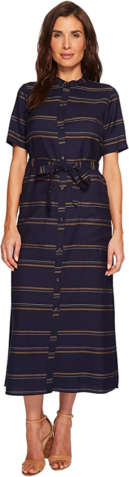 Pendleton Belted Midi Shirtdress