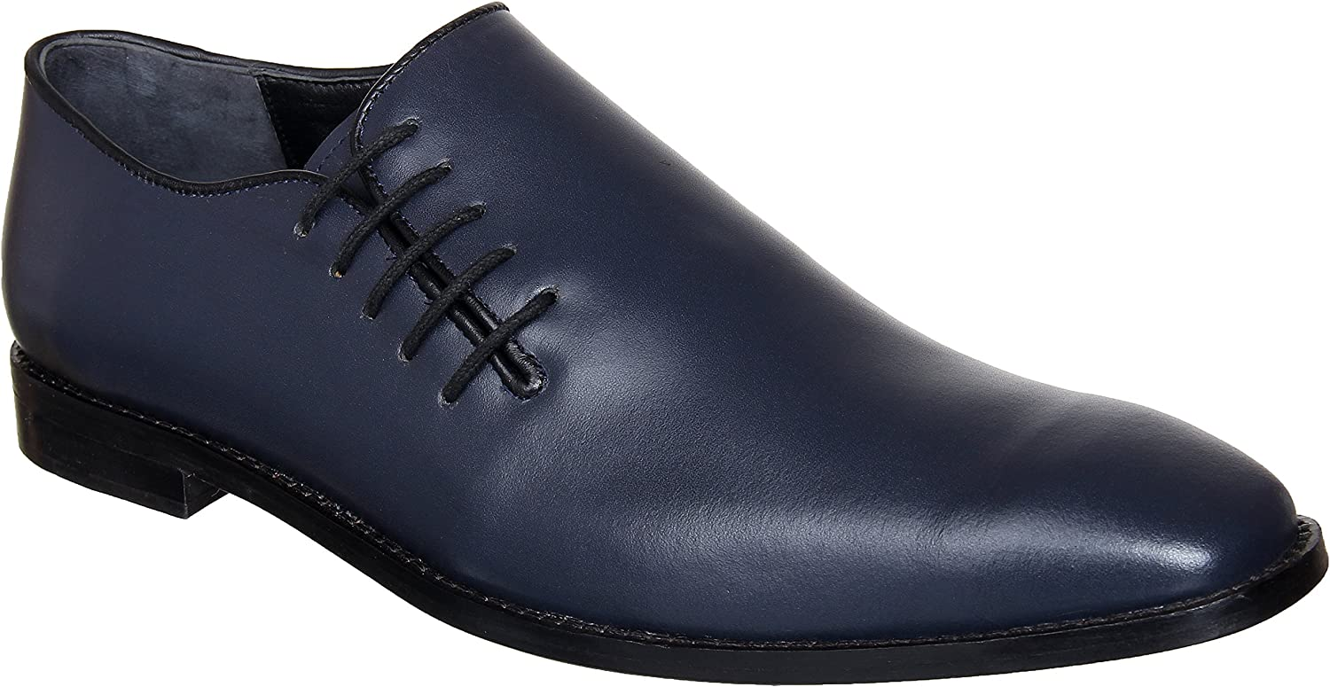 Lozano bluee Side Laced Oxfords Formal shoes bluee