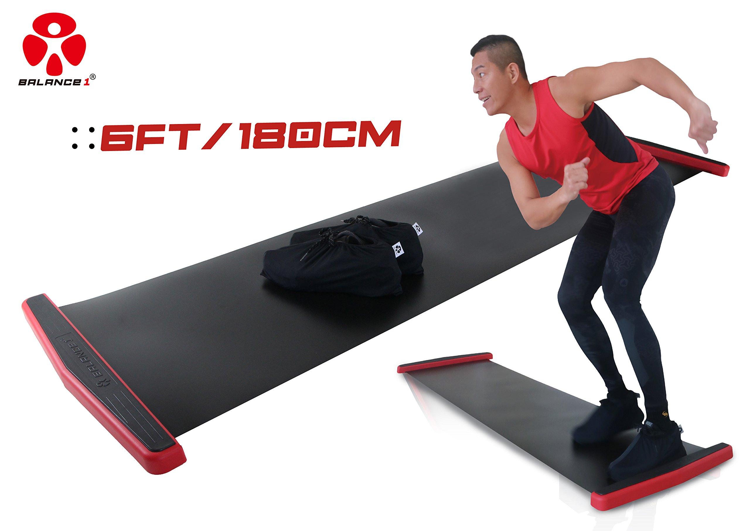 Balance Slide Board BLK180 6FT